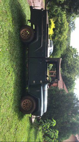 Pick-up jeep F75 ano 1966