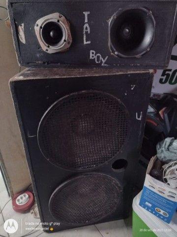 Vendo caixa de som montado leia a discricao - Foto 3