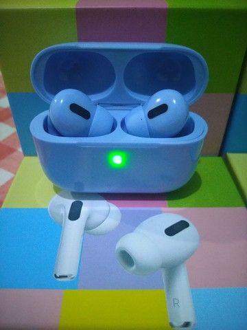 Fone de ouvido bluetooth modelo airpods pro colors - Foto 2