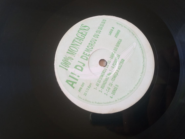 Disco de vinil  para DJ