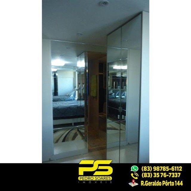 (LUXO) Cobertura com 2 qts sendo 1 suíte à venda, 130 m² por R$ 1.000.000 - Beira mar Cabo - Foto 3