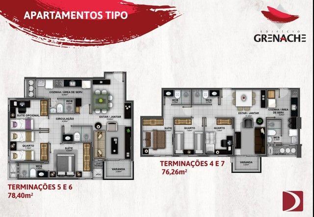 Lançamento na Jatiúca - EDF Grenache - 3/4 sendo um suite - Financiamento direto com a con - Foto 9