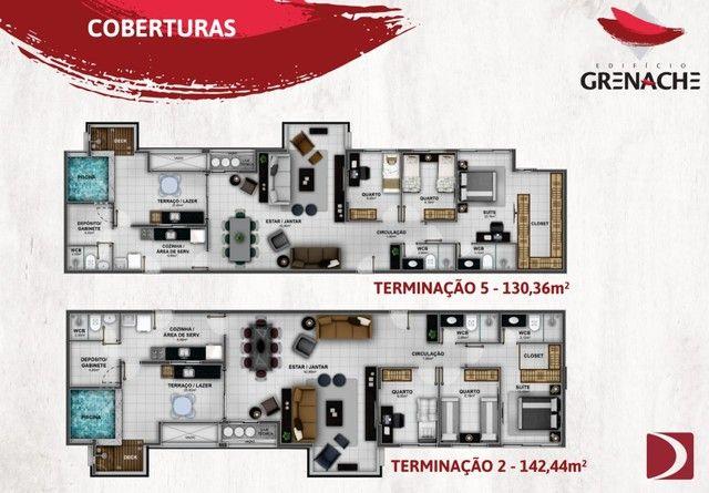 Lançamento na Jatiúca - EDF Grenache - 3/4 sendo um suite - Financiamento direto com a con - Foto 12