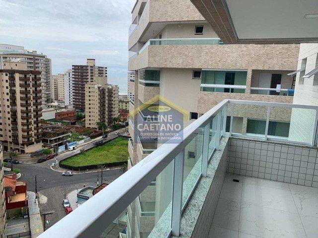 Apartamento 3 dormitórios no Caiçara Praia Grande - Foto 6