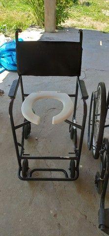 Cadeira de rodas e de banho - Foto 3