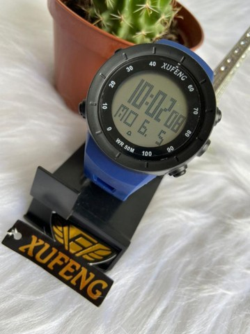 Relógio digital xufeng Prova d'água caixa média  - Foto 3