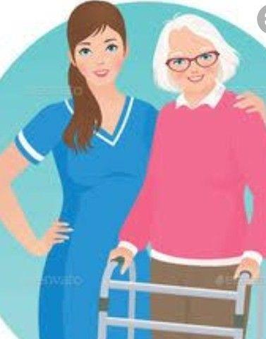Ofereço para trabalhar de cuidadora de idosos  com experiência e  responsável .