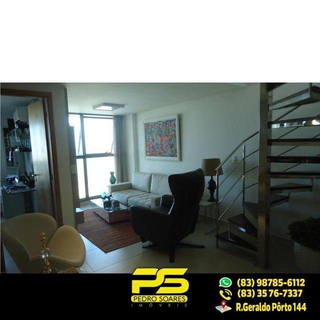 (LUXO) Cobertura com 2 qts sendo 1 suíte à venda, 130 m² por R$ 1.000.000 - Beira mar Cabo - Foto 7