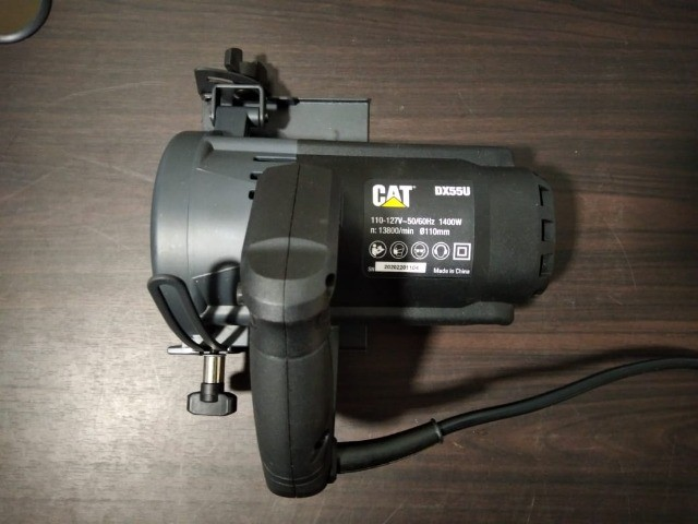 Serra Mármore CAT 1400W 110mm Corte 45/90Graus - Foto 6