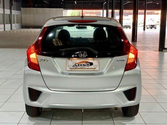 Fit nj 1.5 aut 2015 Couro+Multimídia+Pneus novos! Troco e financio! Chama no zap!