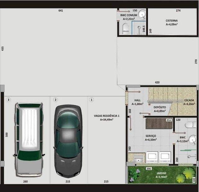 Oportunidade Lindo Sobrado  em condomínio com 3 dormitórios -  188m2 privativos + terraço - Foto 8