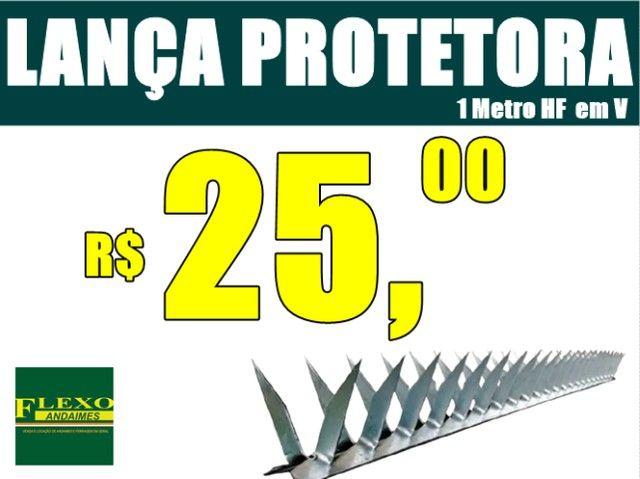 Concertina, Rede Laminada, Lança Protetora. - Foto 4