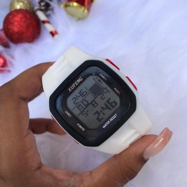 Relógio digital xufeng Prova d'água caixa quadra  - Foto 2