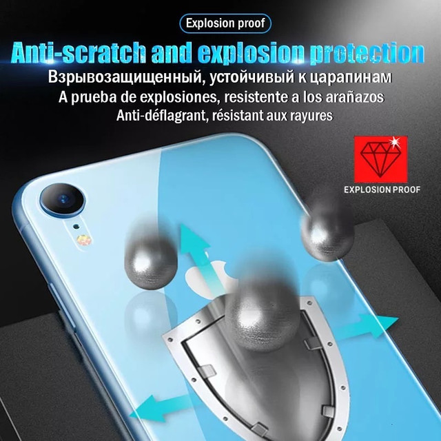 KIT Película traseira e dianteira hidrogel iPhone x - Foto 3