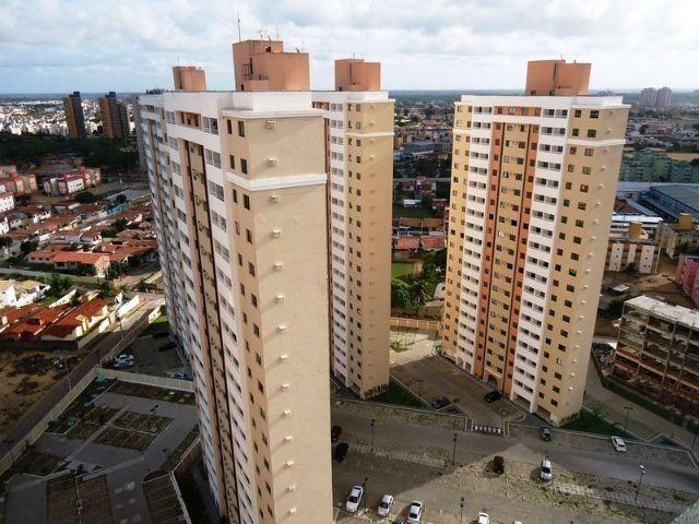Oferta em Ponta Negra Apart Sun Golden 2/4 1Suite Andar Alto Sombra Financ com Facilidade