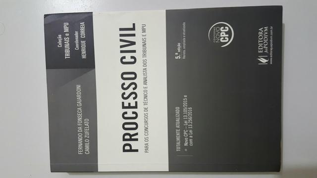 Direito Civil, Processo civil e Direito Penal.