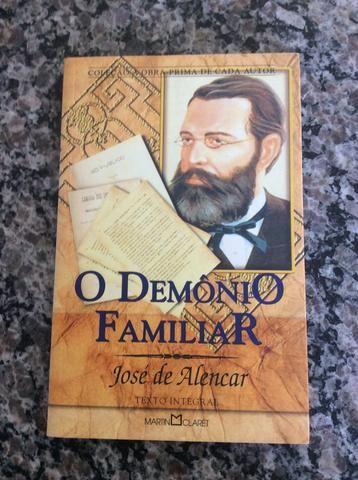 Livro- o demonio familiar - jose de alencar