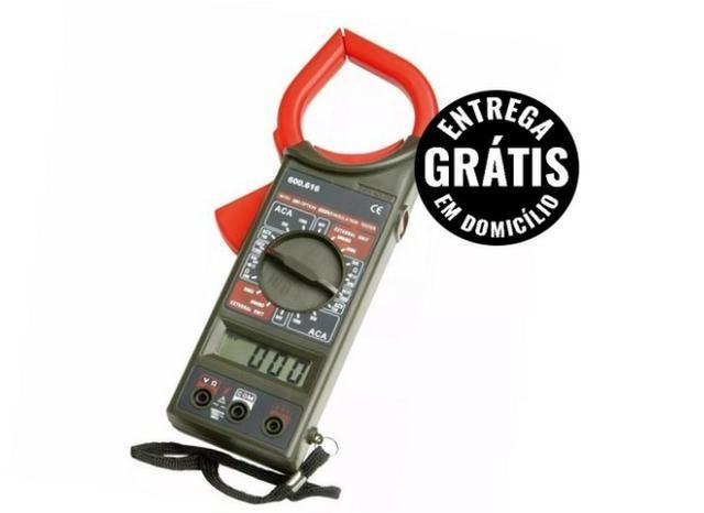 Multímetro alicate amperímetro digital clamp meter- entrega grátis