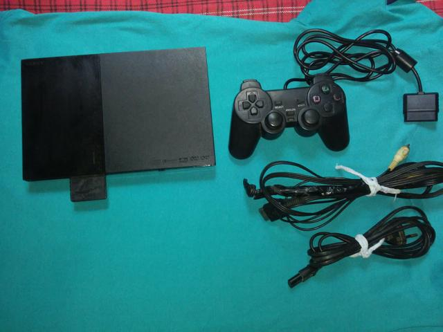 Vendo ps2 com memory card