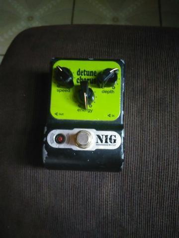 JL pedal Compressor / Caline pedal Orange Burst Overdrive / NIG pedal Detune Chorus