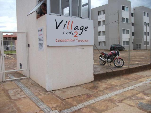 Apartamento - Cond. Turquesa 2 quartos, com Geladeira, Freezer Vertical, Fogão e Cama