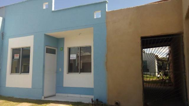 Casa Bairro Novo - cond. girassol