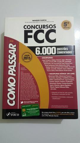 Livro 6.000 mil questões comentadas de concurso