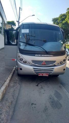 Micro-ônibus Agrale tanderboy 8-150 motor retificado - Foto 6