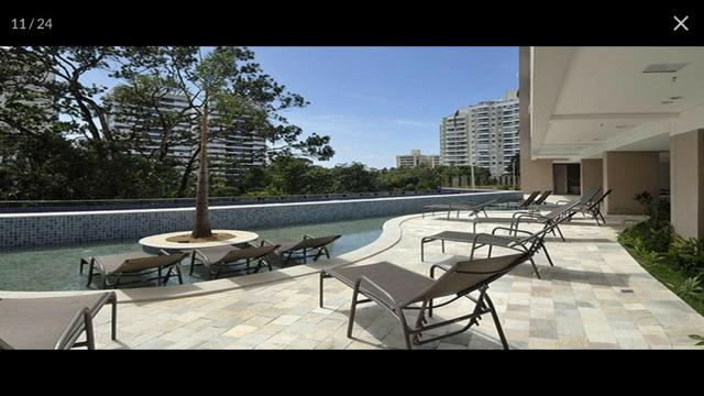 Apartamento Alphaville Cosmopolitan 1 suíte 52m² Nascente Finamente Decorado Vista Lagoa - Foto 9