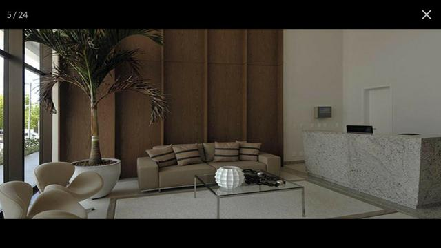 Apartamento Alphaville Cosmopolitan 1 suíte 52m² Nascente Finamente Decorado Vista Lagoa - Foto 10