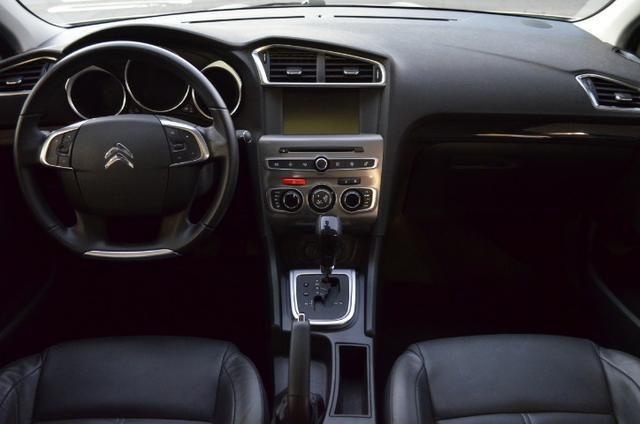 C4 lounge 1.6 turbo flex 4p automático *top de linha*único dono*imecável - Foto 3
