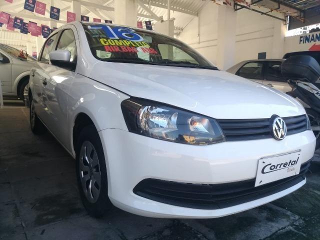Vw- Volkswagen - Gol City 1.0 Flex Carro Extra - Financio 81- *