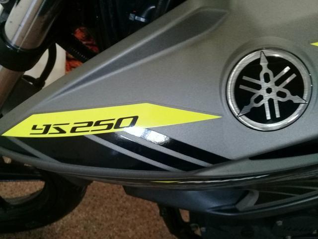 Yamaha ys250 fazer 2016 12.800 - Foto 7