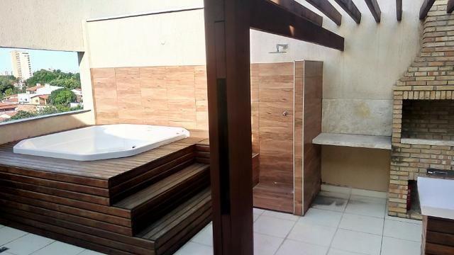 Cobertura na Maraponga, 3 quartos, sendo 2 suítes, deck, churrasqueira e Jacuzzi, 2 vagas - Foto 5