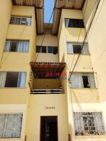 Apartamento com 3 quartos para alugar no sobradinho, 65 m² por r$ 500/mês - feira de santa - Foto 4