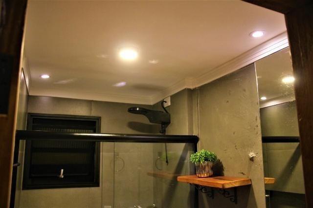 3 Quartos Apartamento Rústico Residencial Parque dos Coqueiros Próximo AV. Três Barras - Foto 17