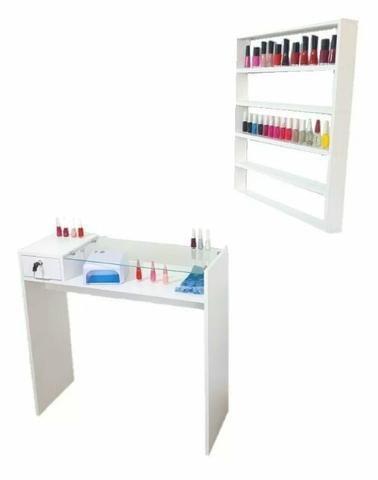 Mesa de manicure profissional+expositor
