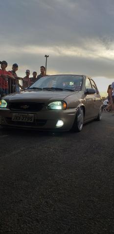 Corsa classic legalizado pra andar rebaixado - Foto 2