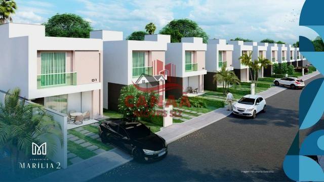 O Sonho do Novo Lar | Casas Duplex c/ 3 qtos | Acabamento no Porcelanato - Foto 3