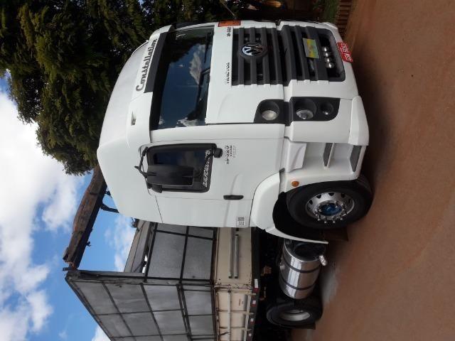 Vendo conjunto vw 19-320 mais carreta 3 eixos - Foto 9