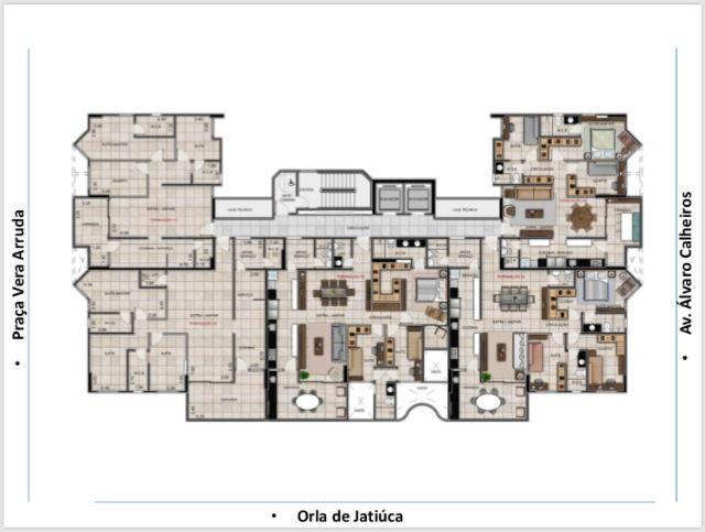 Com 99,5m², 03Quartos em Construção!! Próximo a Corredor Vera Arruda - Foto 6