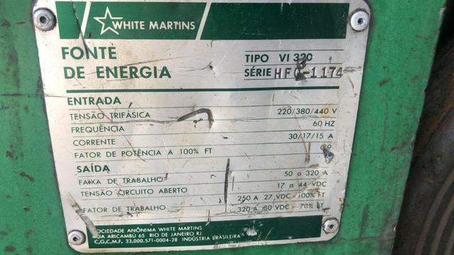 Solda Mig White Martins - Foto 4