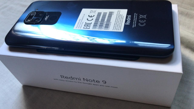 Redmi note 9 midnight Grey 3GB RAM 64GB ROM já estã com película *  - Foto 6
