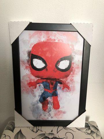 Quadros decorativos Heróis Marvel p/ quartos.  - Foto 2