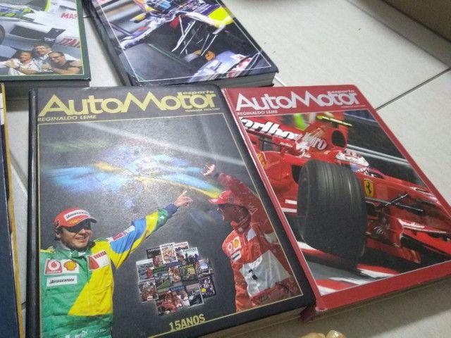 Fórmula 1 - Livro Automotor Reginaldo Leme - Foto 2