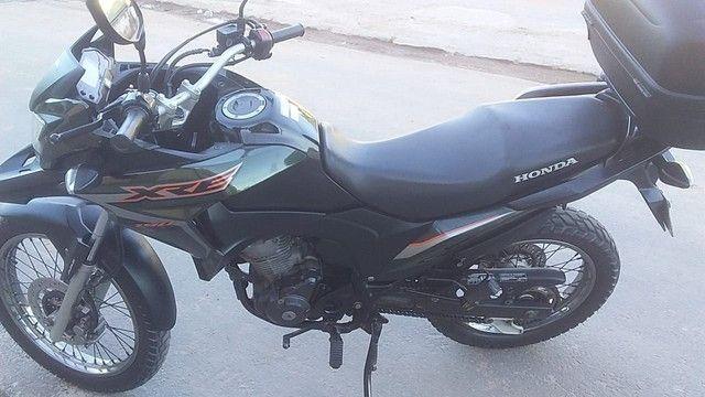 Moto XRE 2018 completa,verde.se for falsário nem ligue. - Foto 6