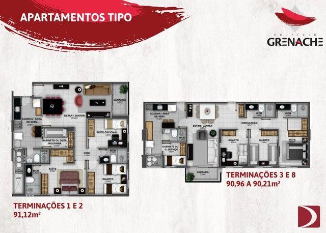 Lançamento na Jatiúca - EDF Grenache - 3/4 sendo um suite - Financiamento direto com a con - Foto 8
