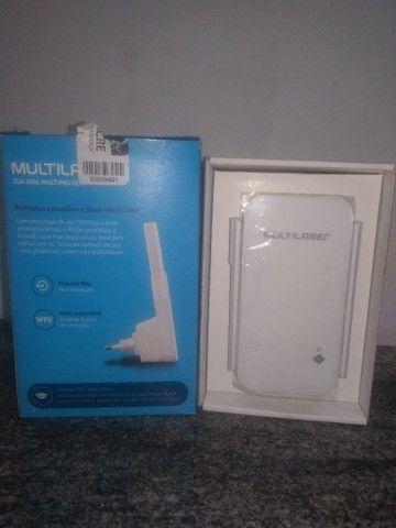 Repetidor de sinal Wifi - Multilaser  - Foto 4