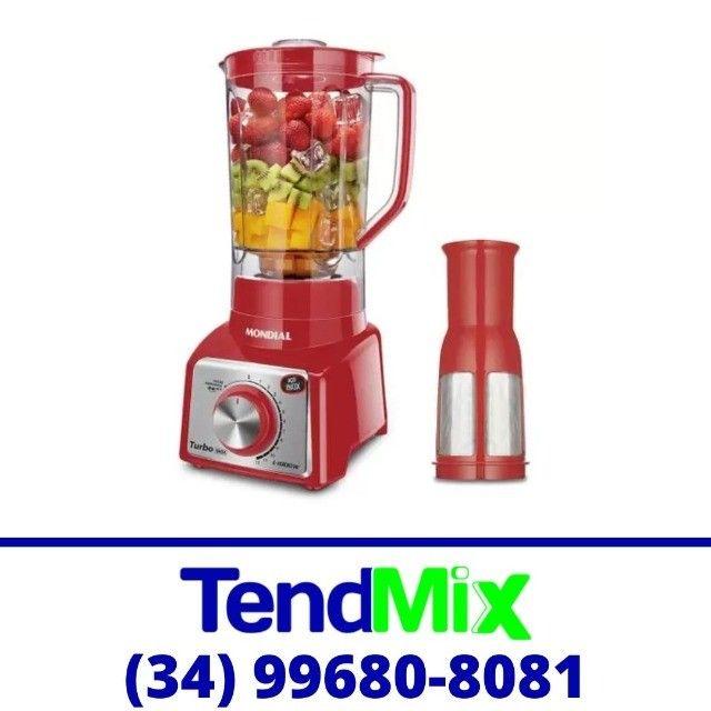 Liquidificador Turbo Mondial 1100w c/ Filtro 12 Velocidades