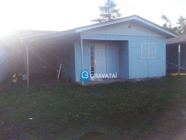 Casa com 2 dormitórios para alugar por R$ 680/mês - Santo Antônio - Gravataí/RS